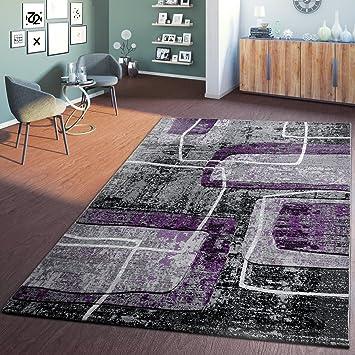 Amazon.de: Moderner Wohnzimmer Teppich Hochwertig 3D Retro Vintage ...