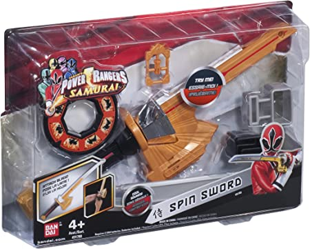 Power Rangers Bandai 31783 Samurai - Espada: Amazon.es: Juguetes y juegos