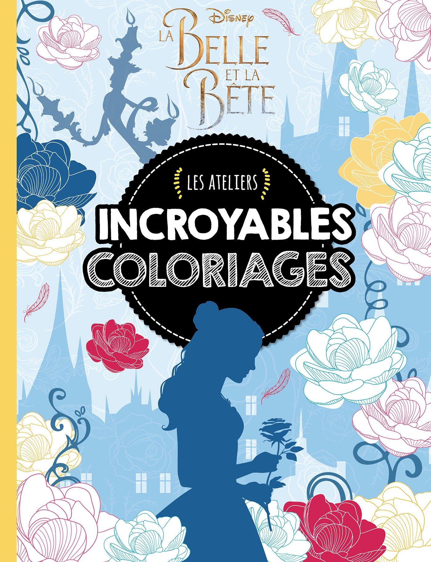 Beau Dessin A Colorier La Belle Et La Bete