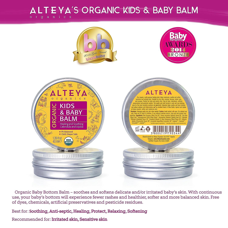Alteya Bálsamo Orgánico Para Bebé 40 ml - USDA Certificado Orgánico: Amazon.es: Bebé