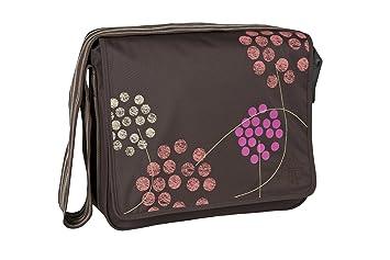 Lassig Casual Messenger/de pañales bolso cambiador, barberry Choco