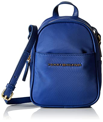 7b979f80 Amazon.com: Tommy Hilfiger Crossbody Bag for Women Juliette, Cobalt ...
