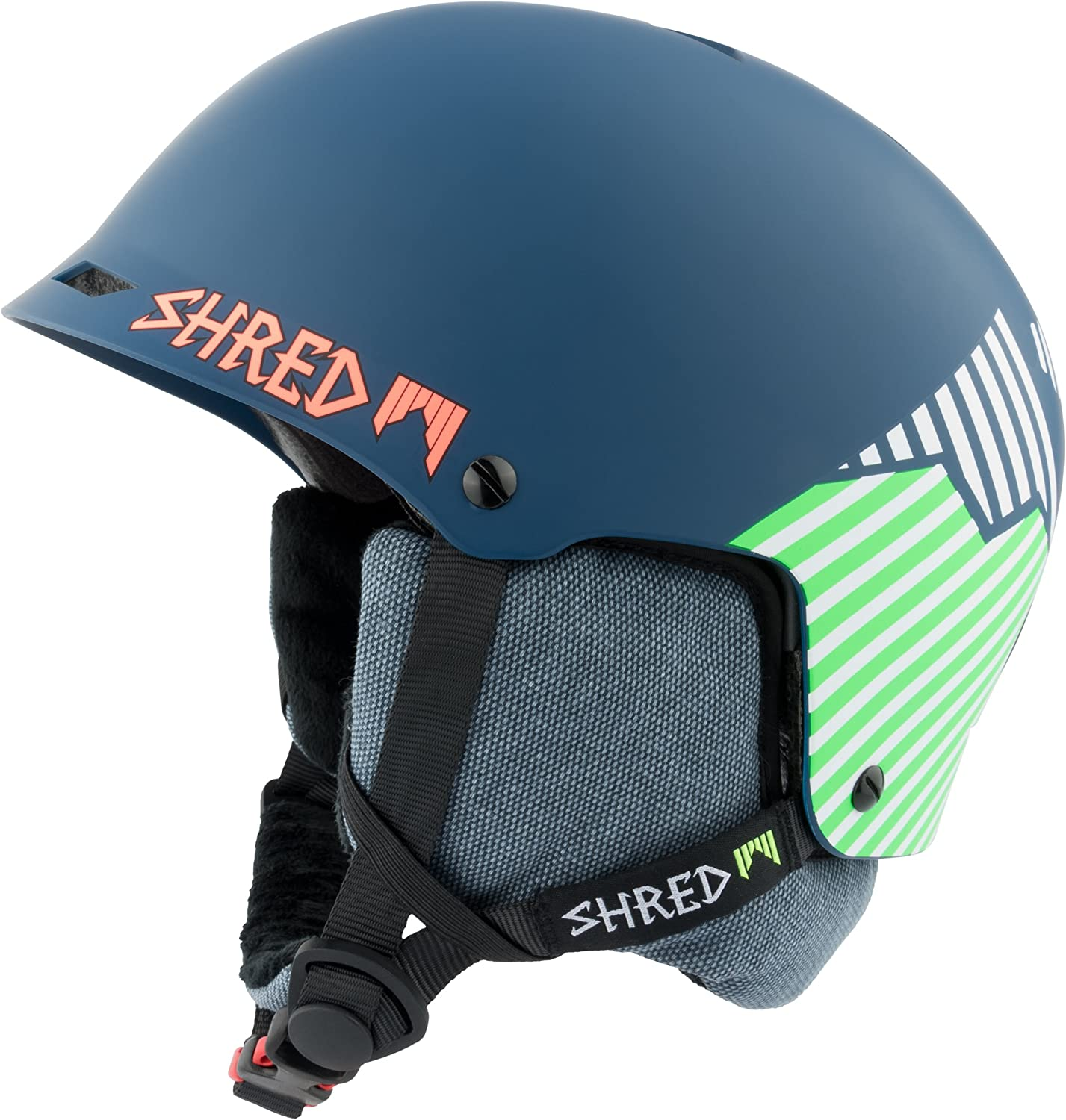 Shred Herren Helm Half Brain D-lux Needmoresnow