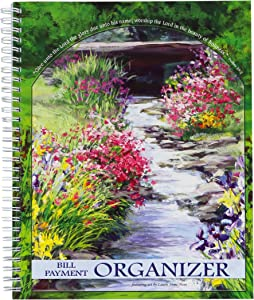 Christian Collection God's Promise Bill Payment Organizer - Featuring Art By Laurie Snow Hein