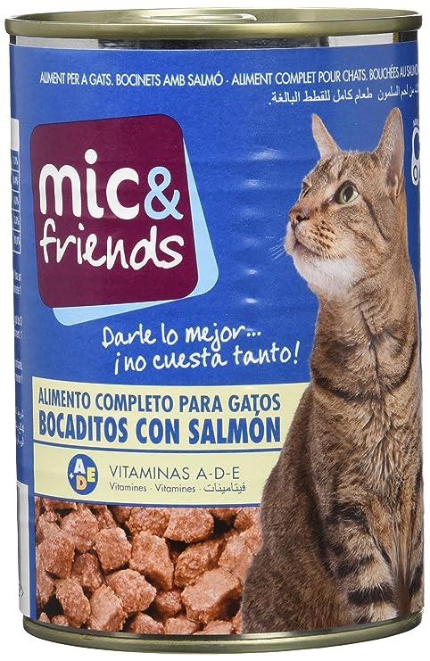 Mic & Friends Comida Para Gato con Salmon - 415 g