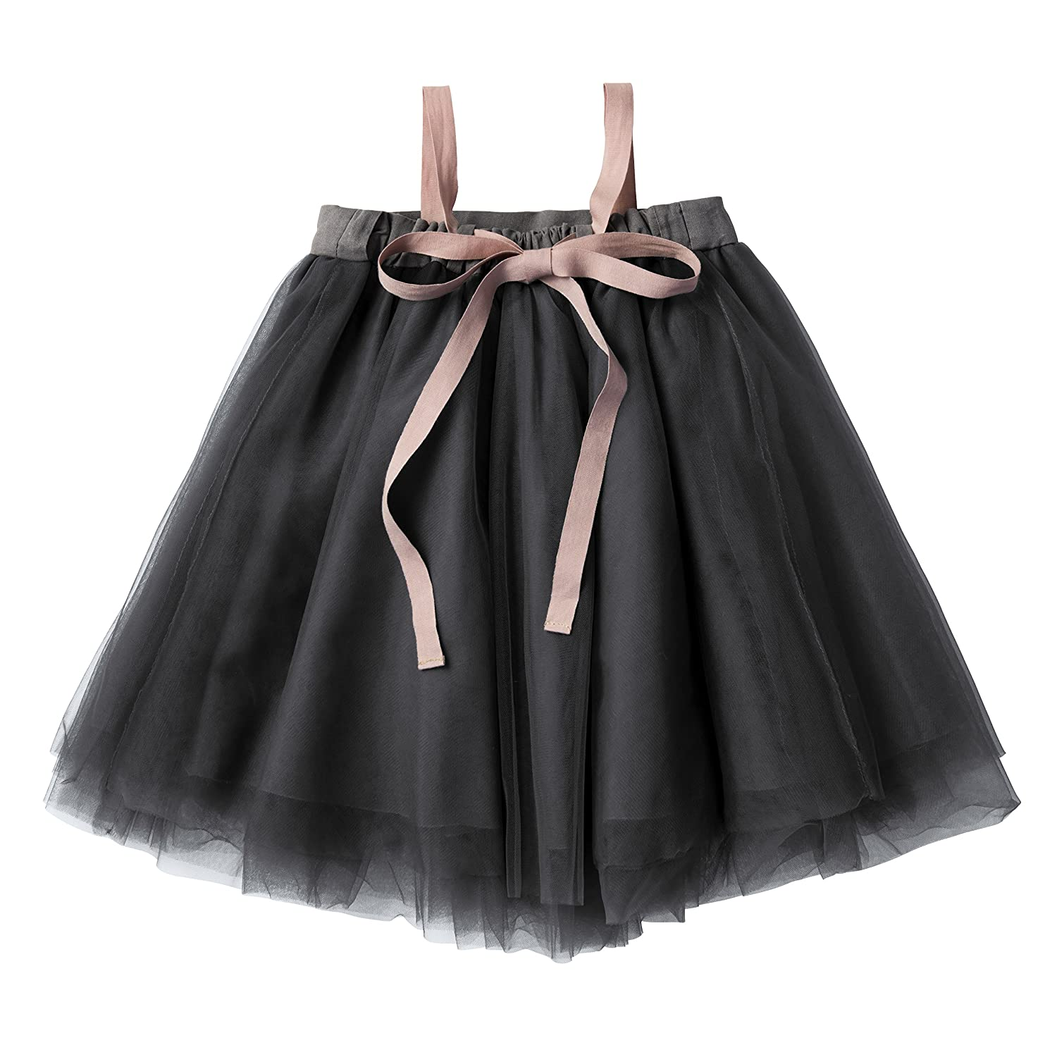 b1346a07b988 Amazon.com: MARLMARL Tutu Dress, Party Outfits, Birthday Gift, Baby Shower,  2-Way Skirts, for Newborn Baby to Kids Girls, Pink/Grey/Navy: Clothing
