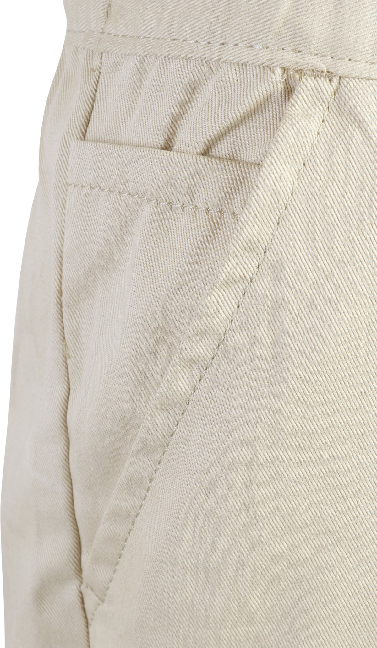 Beverly Hills Polo Club Boys School Uniform 2 Pack Twill Pull-On Jogger Pant with Adjustable Waist, Khaki, 14' by Beverly Hills Polo Club (Image #3)
