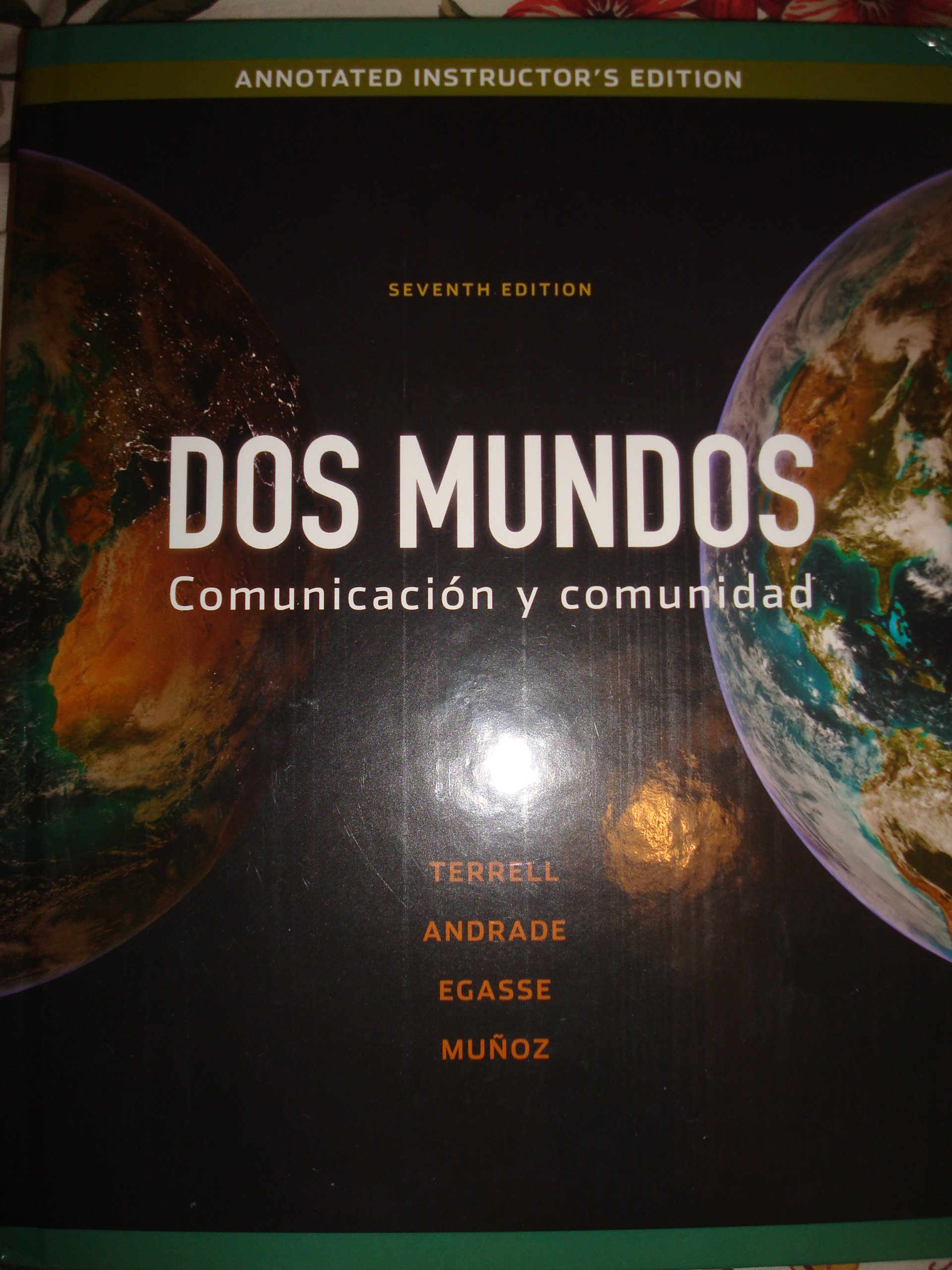 dos mundos spanish textbook 7th edition