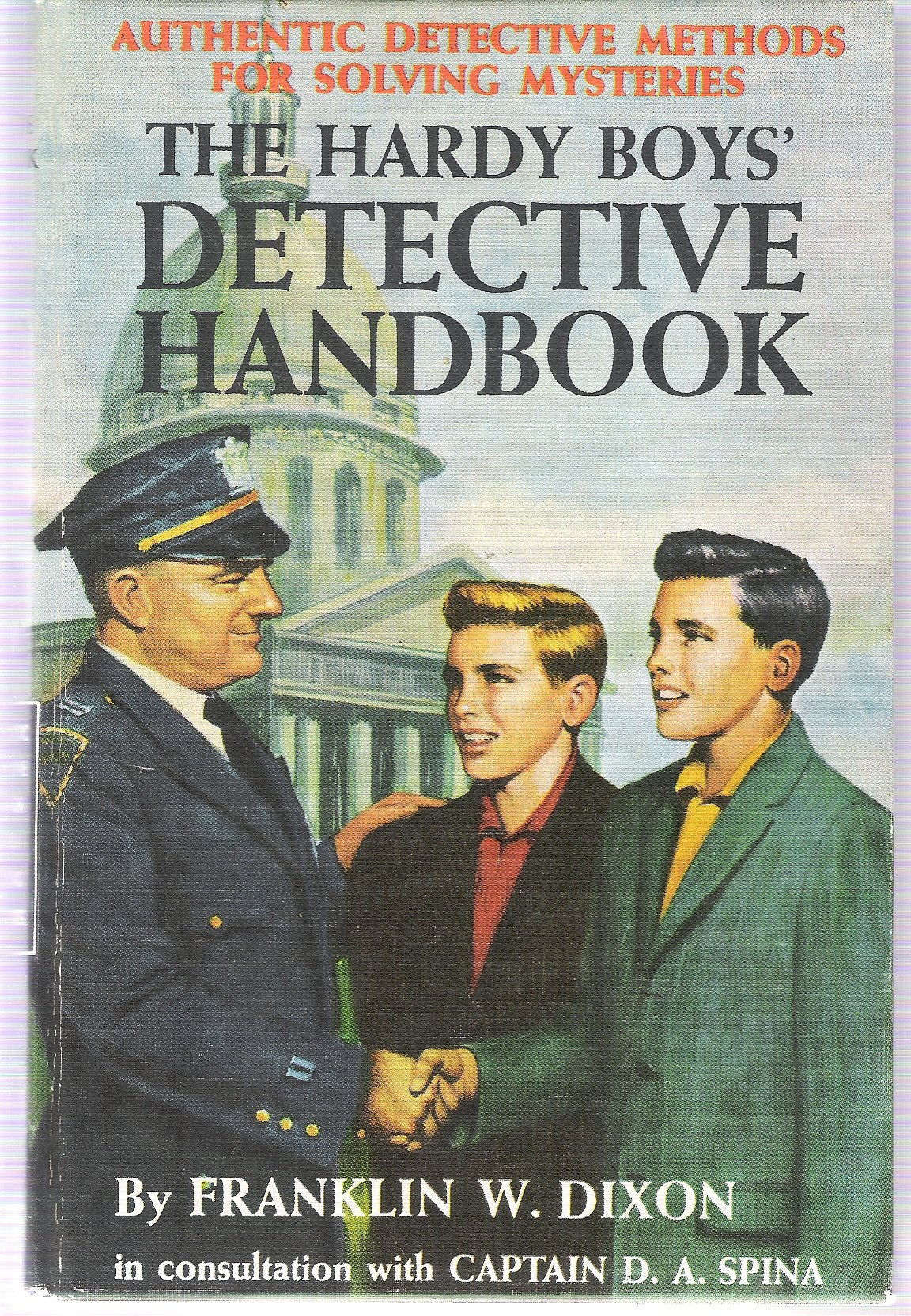 THE HARDY BOYS' DETECTIVE HANDBOOK: Franklin W  Dixon