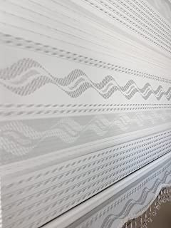Turbo TOP! Doppelrollo 200 cm breit !! 170 cm lang Farbe weiß mit  PV62