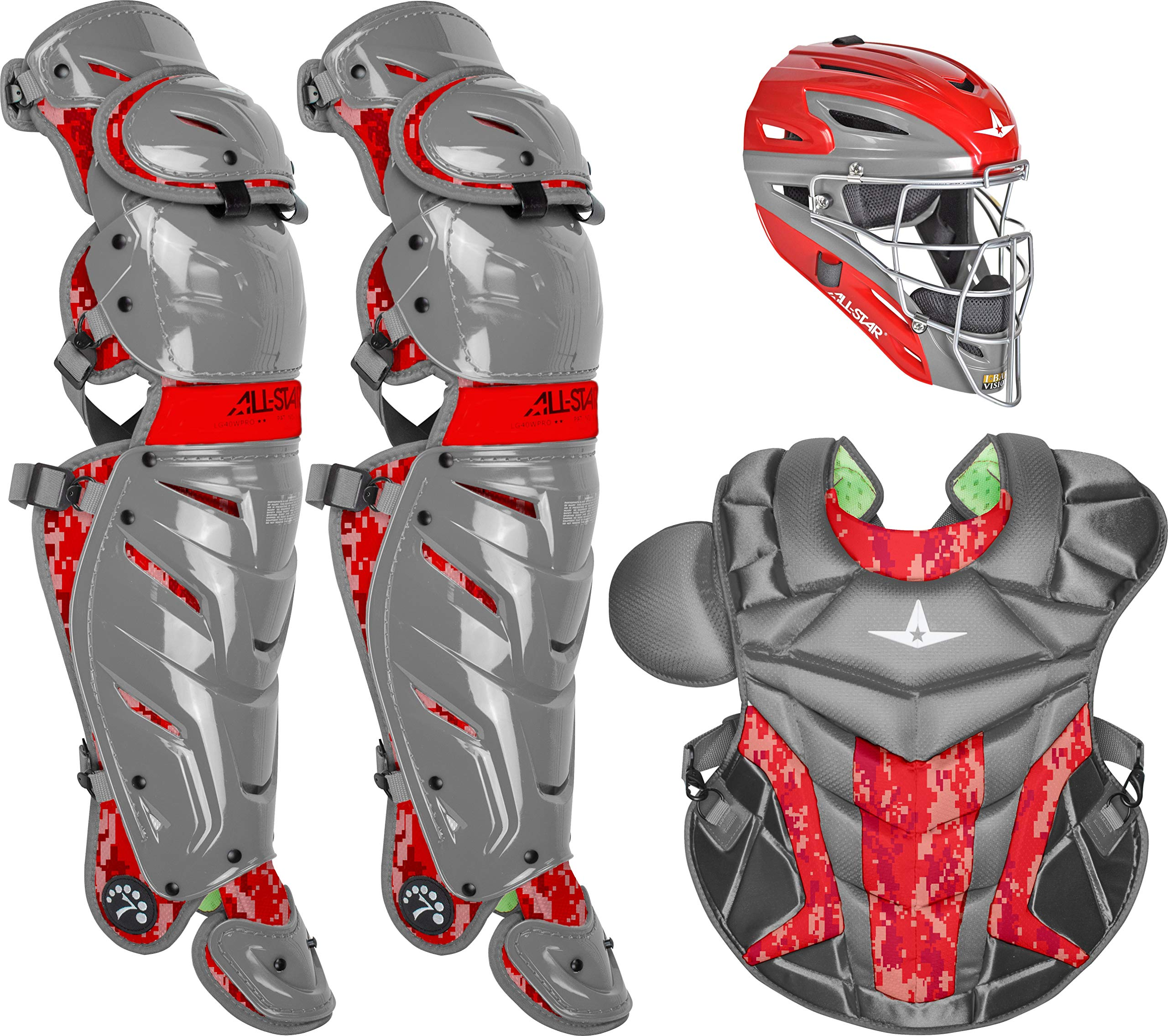 All-Star Adult System7 Axis Digi Camo Pro Catcher's Set by All-Star