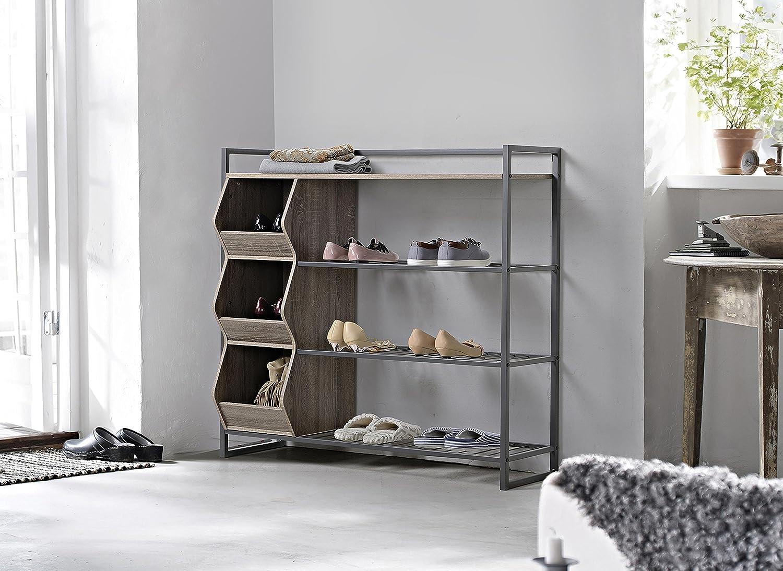 Amazoncom Homestar 4 Shelf Shoe Rack Kitchen