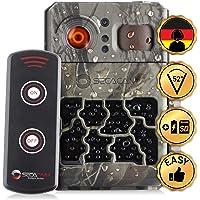 SECACAM PRO 80° Winkel das Allround Talent Wildkamera Überwachungskamera Batteriemagazin Fernbedienung Full HD