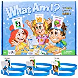 Gvoo HedBanz Game, Updated Edition Exclusive Guessing HedBanz Card Games Party Bundle for Kids Friends and Families