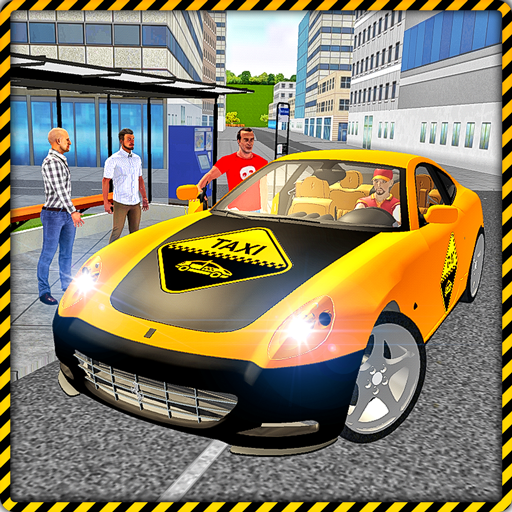 Taxi Drive 3D City Rush Duty