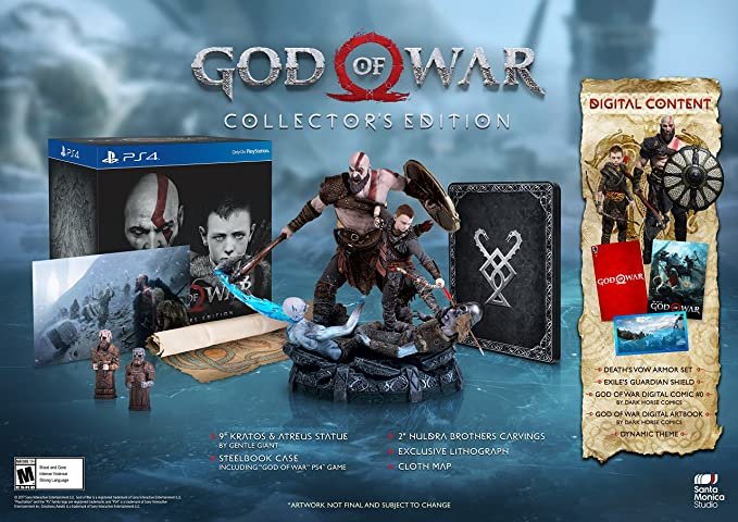 Desconocido God of War Collectors Edition Video Game, Playstation ...