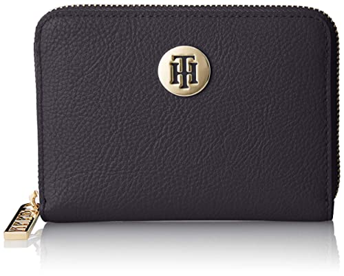 Tommy Hilfiger - Th Core Comp Za Wallet, Carteras Mujer, Azul (Corporate)