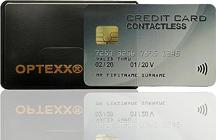 20 x pour protecteur sûr RFID ID crédit porte-carte manches de blocage
