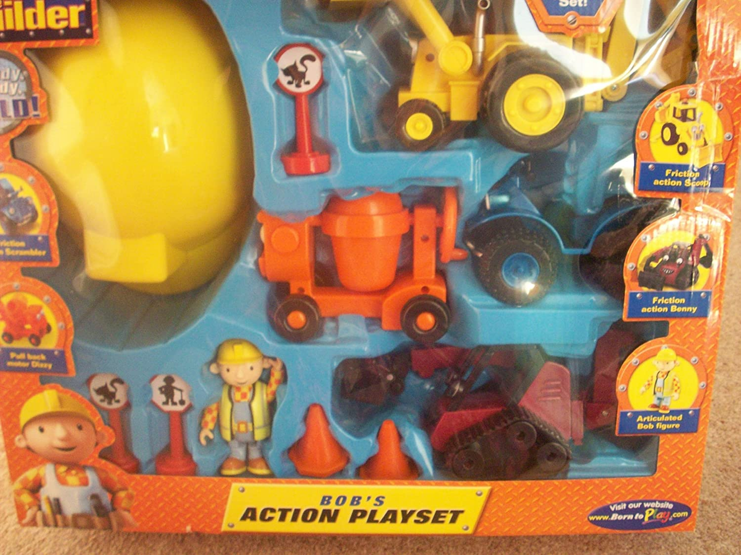 Bob the builder live online dvd rental - Bob The Builder Bob S Action Playset Born To Play Amazon Co Uk Toys Games