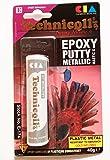 "Masilla epoxi para metales (acero, aluminio, bronce, hierro arroja, etc) ""frío soldadura"" 40 G notebookbits"