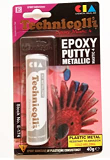 Masilla epoxi para metales (acero, aluminio, bronce, hierro arroja, etc)