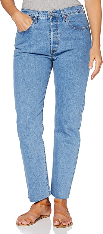 Levi S 501 Crop Jeans Para Mujer Amazon Es Ropa Y Accesorios