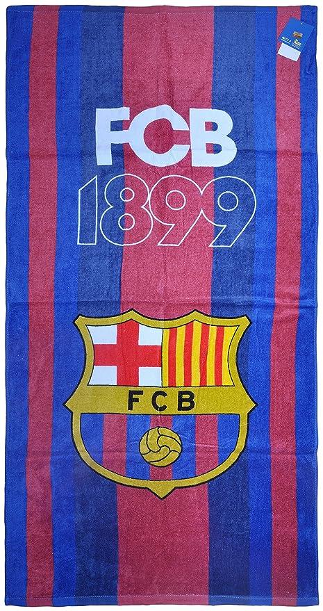 100% con licencia oficial FC Barcelona playa toallas de baño gimnasio nadar de Messi Suárez