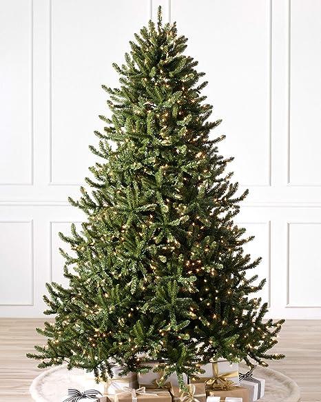 Balsam Christmas Trees.Balsam Hill Adirondack Spruce Prelit Artificial Christmas Tree 6 Feet Clear Lights
