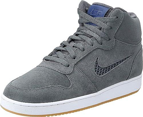 Nike EBERNON MID PREM, Dark Grey/Blue