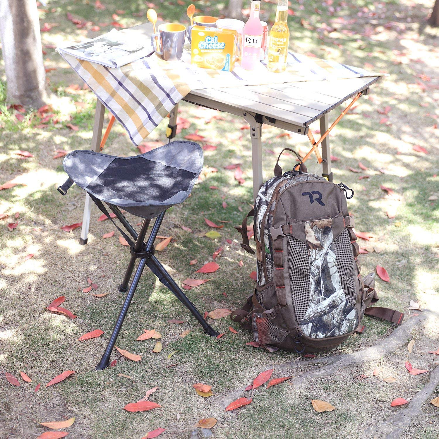 Awesome Portal Tall Slacker Chair Folding Tripod Stool For Outdoor Ocoug Best Dining Table And Chair Ideas Images Ocougorg