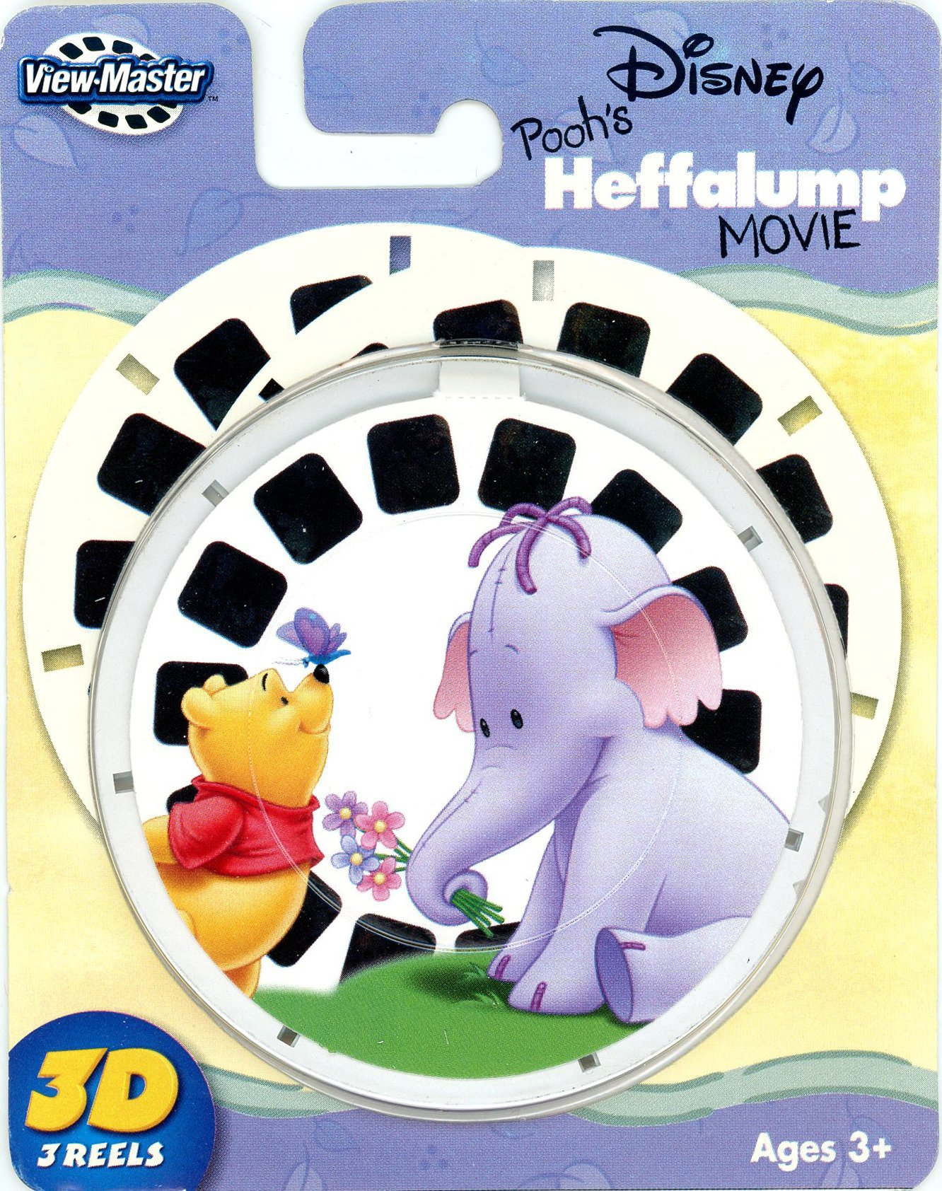 Winnie the Pooh - HEFFALUMP Movie - ViewMaster 3 Reel Set by 3Dstereo ViewMaster