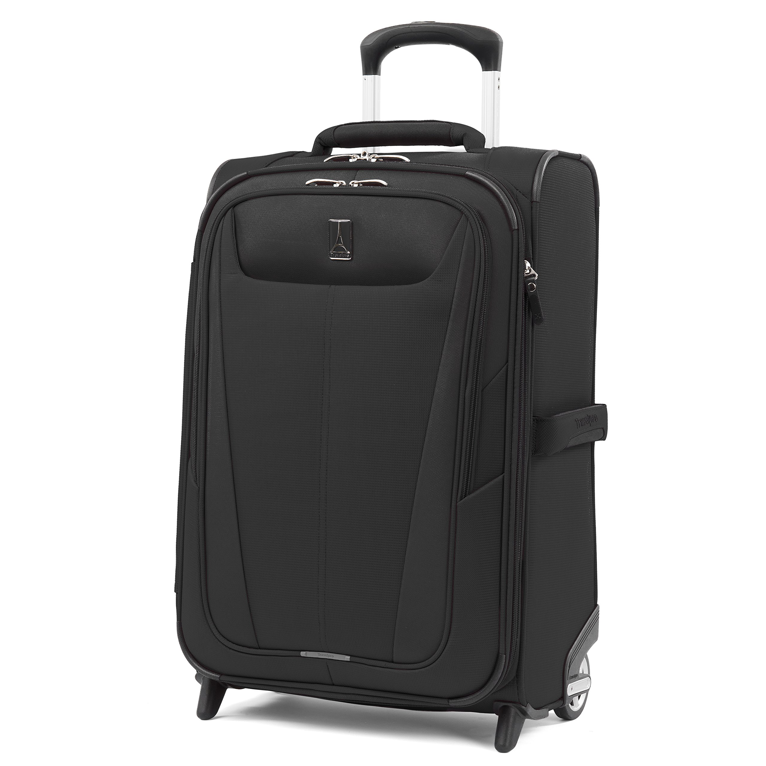 Travelpro Maxlite 5 22'' Expandable Rollaboard Carry-on Suitcase, Black