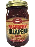 Gourmet Raspberry Jalapeno Jam Handcrafted Small Batch (FAT FREE, GLUTEN FREE & ALL NATURAL)