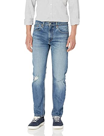 2de0434def80ff Levi's Men's 502 Regular Taper Fit Jean, Blue Comet/Tencel Stretch, ...