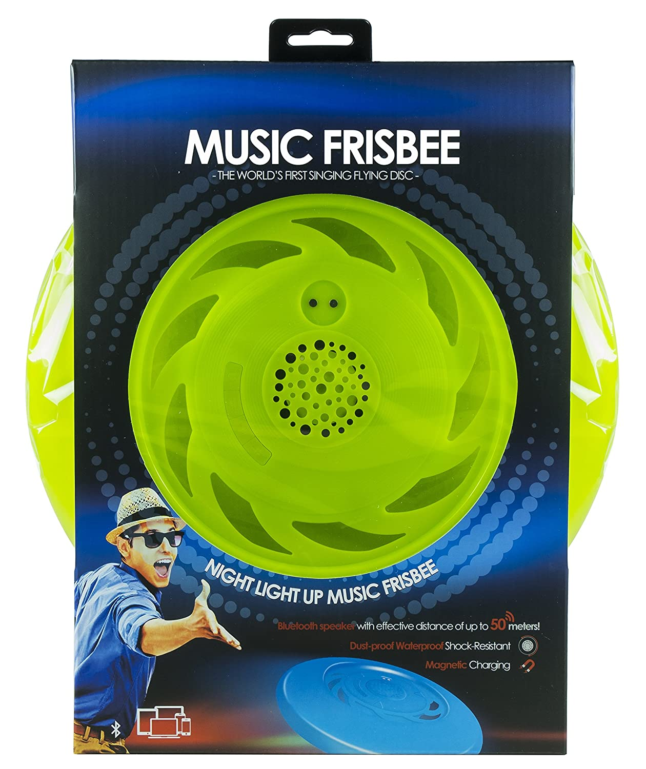 Frisbee in the shower