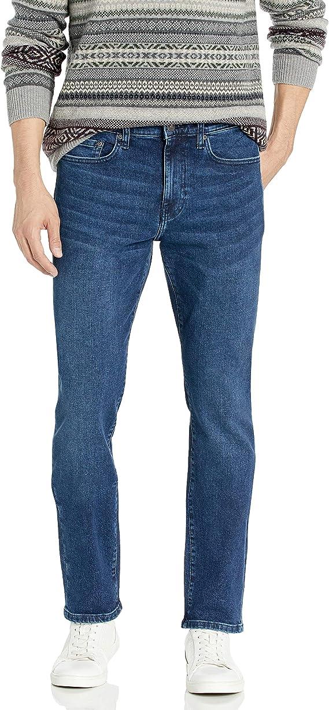 Goodthreads Amazon Brand, Jeans de Ajuste Delgado para Hombre, índigo (Medium Indigo), 28W x 30L: Amazon.com.mx: Ropa, Zapatos y Accesorios