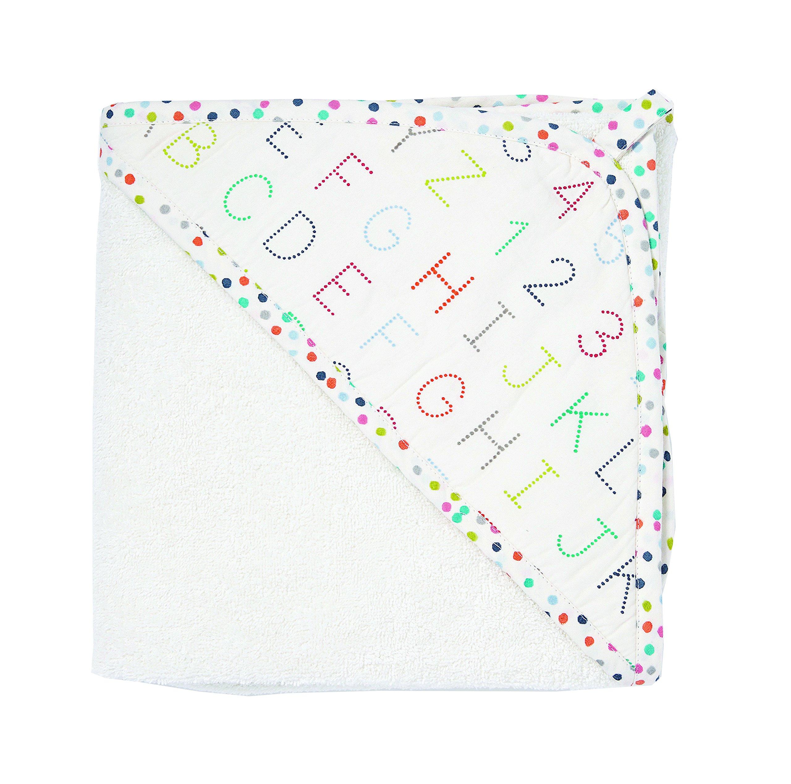 Pehr Alphabet Hooded Towel by PEHR
