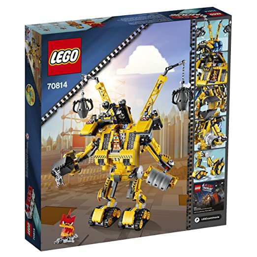 Amazon.com: LEGO Movie 70814 Emmet's Construct-o-Mech Building Set ...