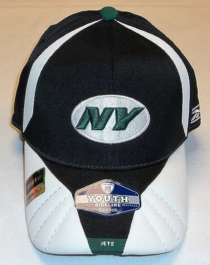 Amazon.com   New York Jets Osfa Youth Sideline Reebok Hat. (4-7 Yrs ... 7b2a613657b