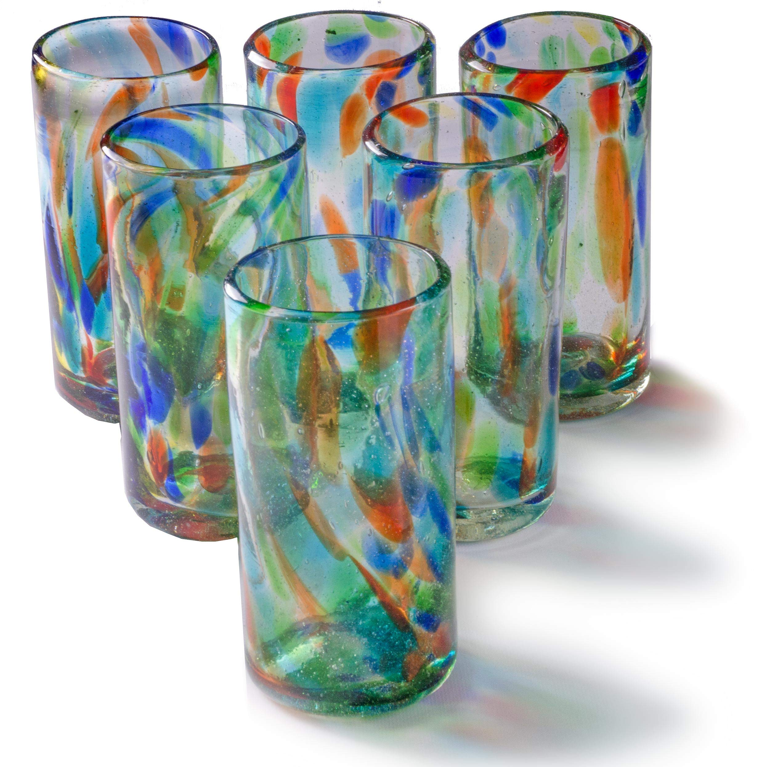 Orion Solid Confetti 22 oz Tall Tumbler - Set of 6