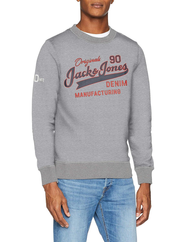 JACK & JONES Herren Jorlogan Sweat Crew Neck Sweatshirt