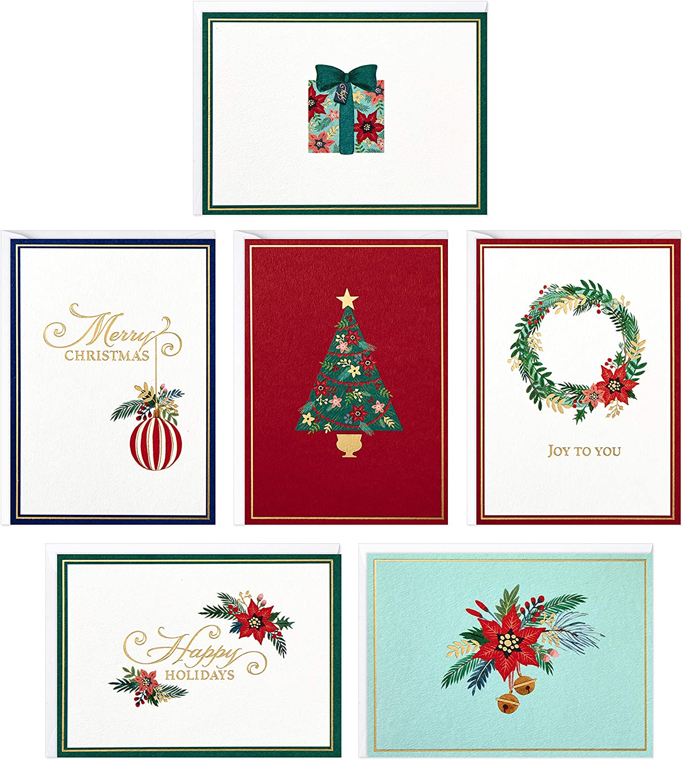 9 Lot Christmas Boxed Cards /& Envelopes Variety Assortment