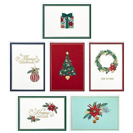 Amazon.com: Hallmark – Tarjetas de Navidad religiosas ...