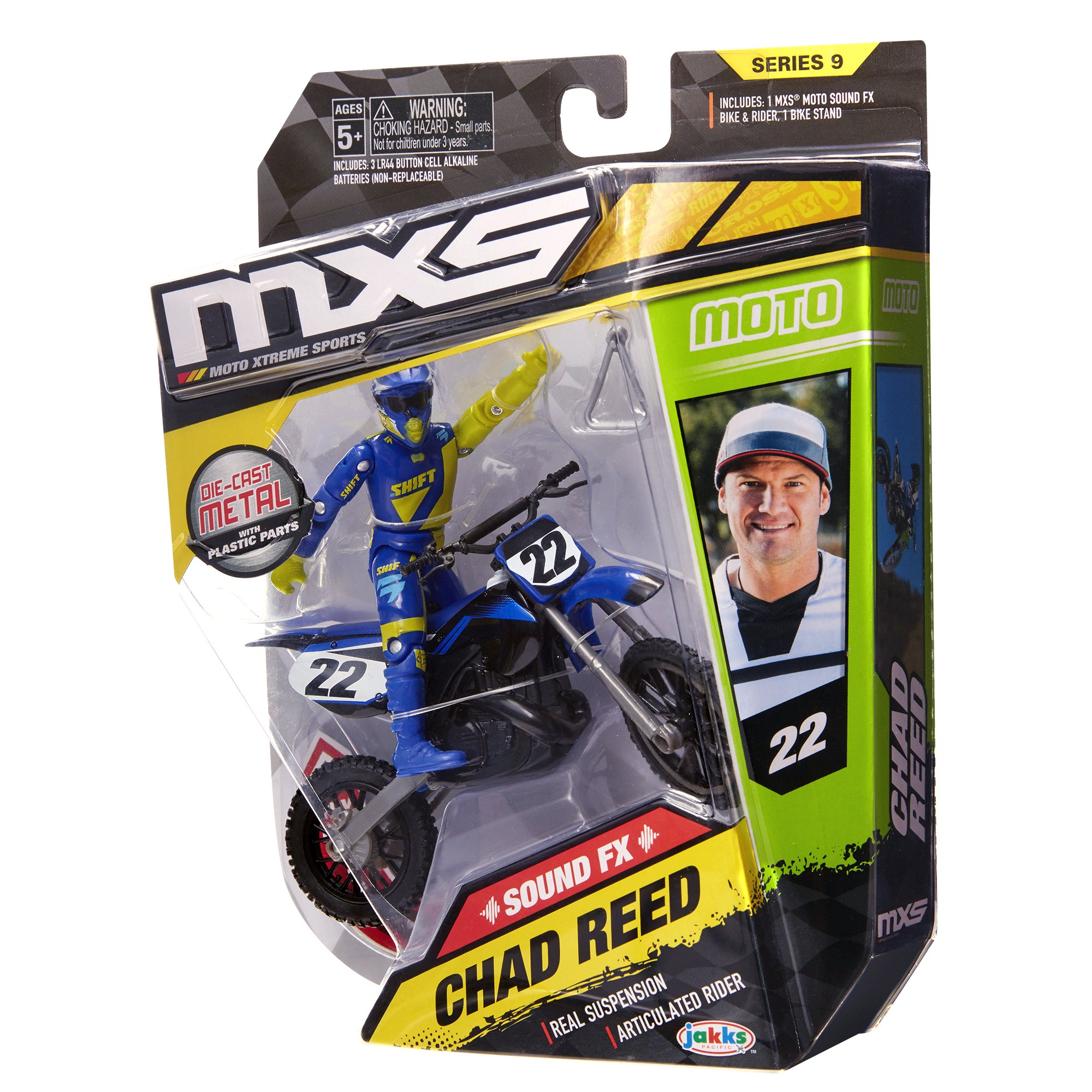 MXS Boys Chad Reed SFX Bike & Rider Set by MXS (Image #10)
