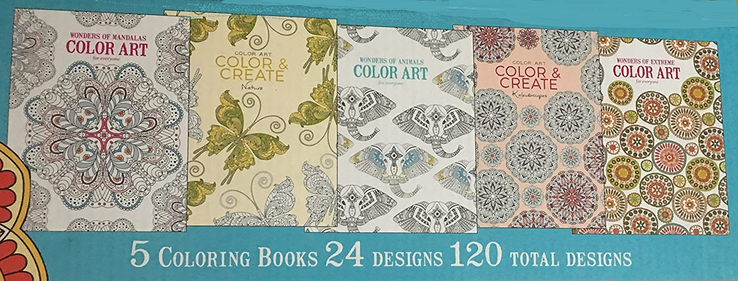 - Amazon.com: Wonders Of Color Art Coloring Pack - Kit Includes 5