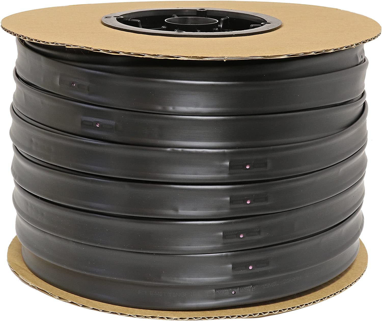 "Irritec P1 5//8/"" drip tape 15 mil 8/"" Spacing 0.46 GPH 100/' Roll"