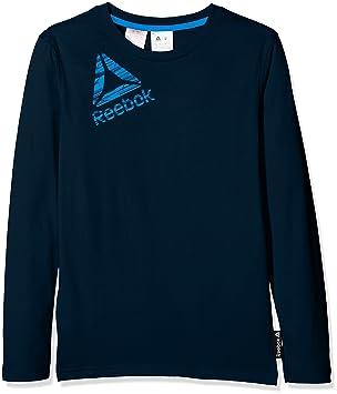 Reebok B Es Ls Camiseta Manga Larga, Hombre, Azul (Maruni), 5T: Amazon.es: Deportes y aire libre