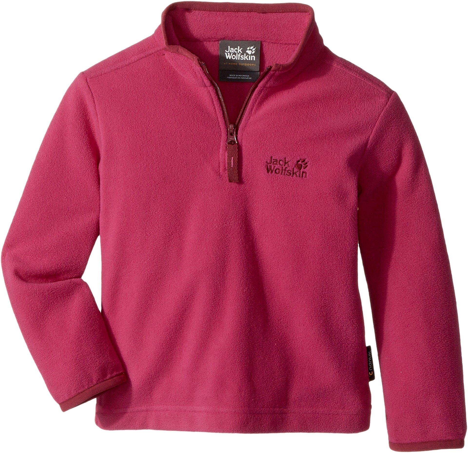 Jack Wolfskin K Wolf Pullover Sweater, Fuchsia, Size 164 (13-14 Years) by Jack Wolfskin