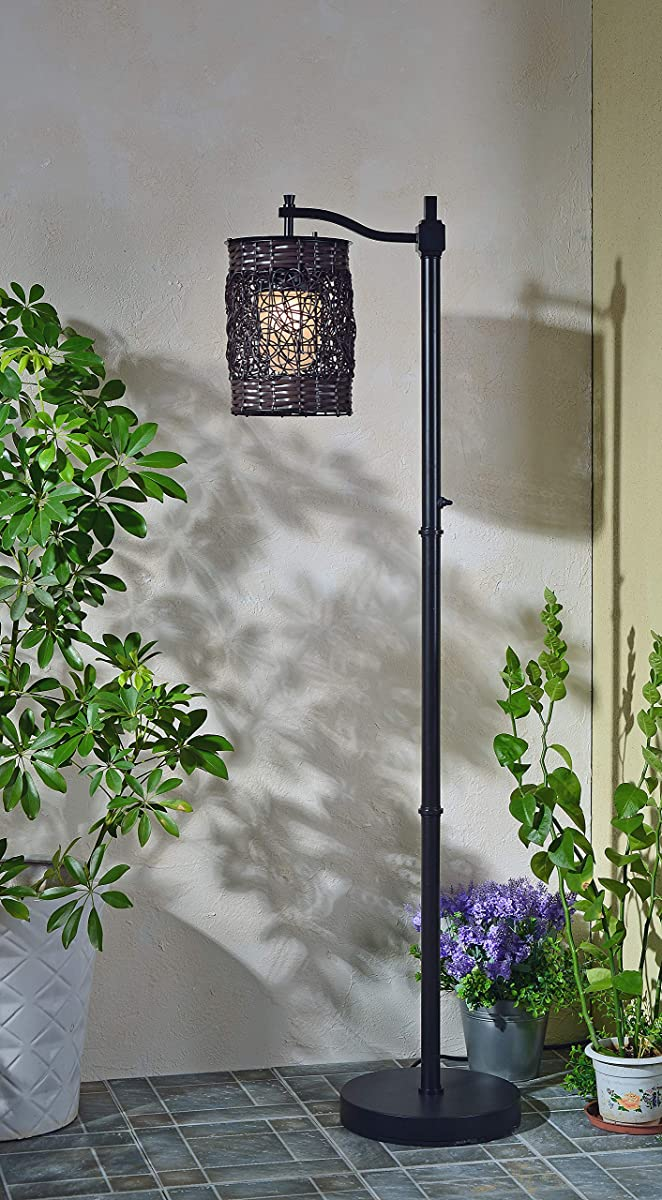 Kenroy Home 32144ORB Brent Outdoor Floor Lamp