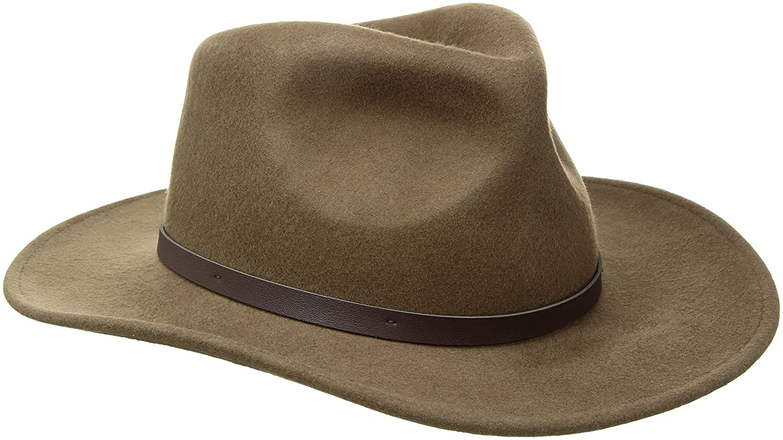Scala Classico Mens Crushable Felt Outback Hat